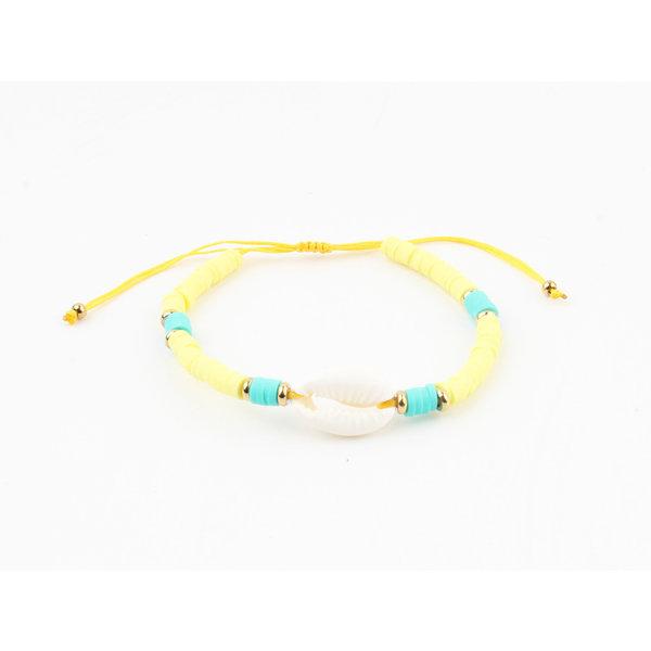 "Armband ""Ariel"" geel"