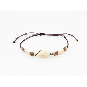 """Bracelet """"Mulino"""" brown"""