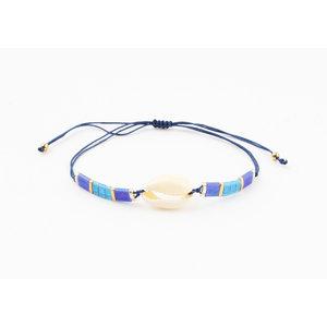 """Bracelet """"Pedee"""" blue"""