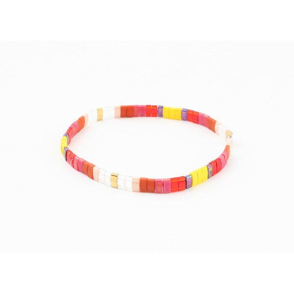 "Armband ""Scio"" rood"