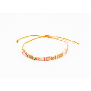 "Bracelet ""Melrose"" rust"