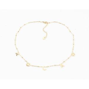 "Necklace ""Azalea"" gold"