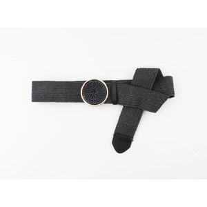 "Belt ""Loleta"" black"