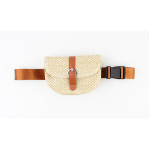 "Waist bag ""Fortuna"" beige"