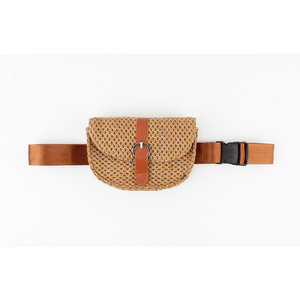 "Waist bag ""Fortuna"" brown"