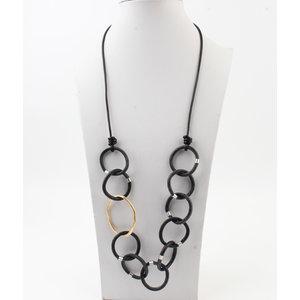 """Necklace """"Kamela"""" black"""