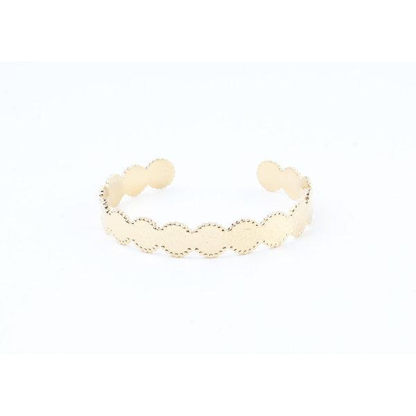 """Armband """"Usta"""" goud"""