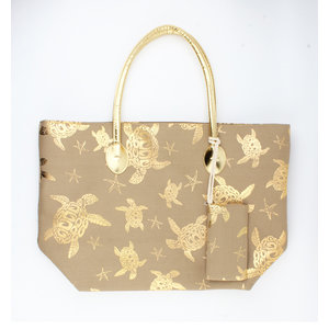 "Shopper ""Pavonia"" gold"