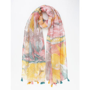 "Sjaal ""Palmyra"" roze"