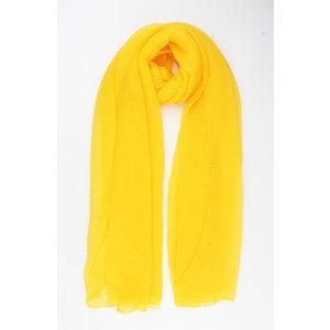 """Sjaal """"Odessa"""" geel"""