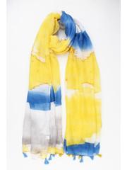"Scarf ""Galla"" yellow"