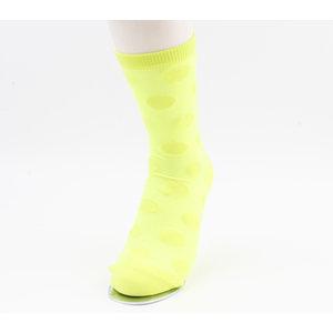 "Sokken ""Caroline"" geel, per 2 paar"