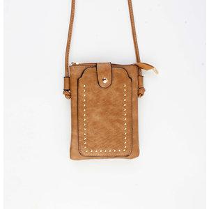 "Crossbody bag ""Sonia"" congac"