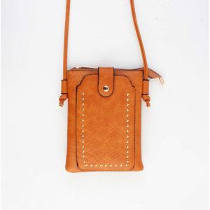 "Crossbody bag ""Sonia"" rust"