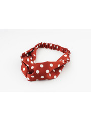 "Hair band ""Keshena"" rust, per 2pcs"