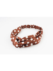 "Hair band ""Keshena"" brown, per 2pcs"