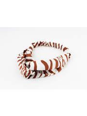 "Hair band ""Aniwa"" rust, per 2pcs"