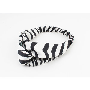 "Stirnband ""Aniwa"" schwarz, doppelpack"