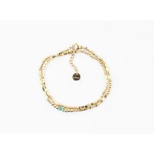 """Armband """"Nyssa"""" gold"""