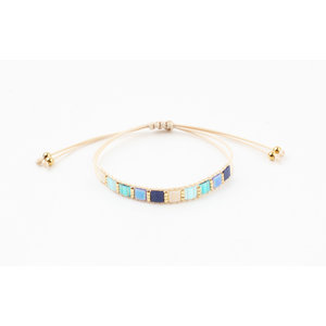 "Bracelet ""Tunupa"" blue"