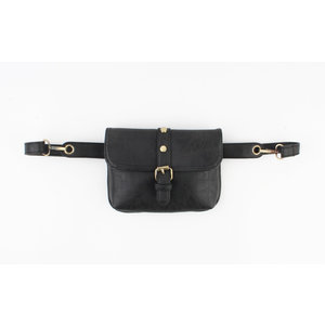 "Waist bag ""Storla"" black"