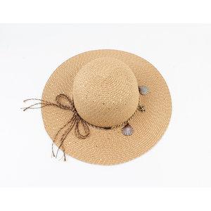 "Flap hat ""Eyota"" brown"