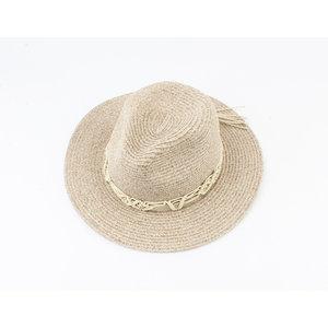 """Panama hoed """"Airlie"""" beige"""
