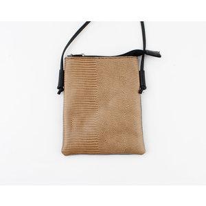 "Crossbody bag ""Kirley"" brown"