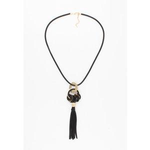 """Necklace """"Zetta"""" black"""