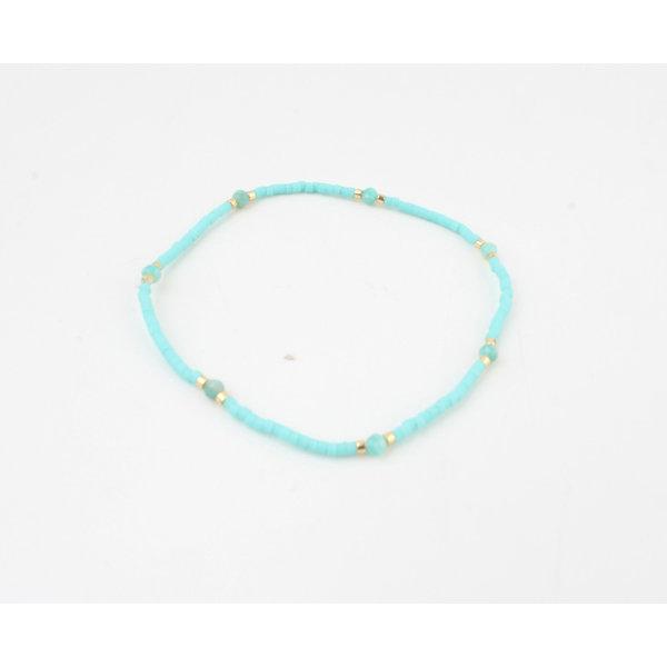 """Armband """"Virgilia"""" blauw"""