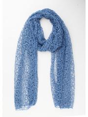 """Sjaal """"Farina"""" blauw"""