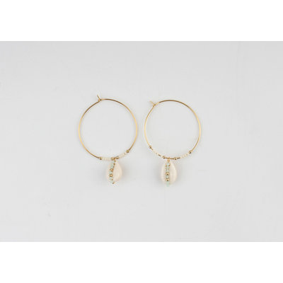 "Earring ""Ely"" gold"