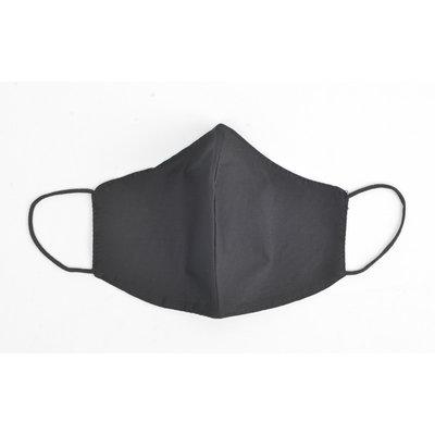 """Face mask """"Uni H"""" black, per 5pcs"""