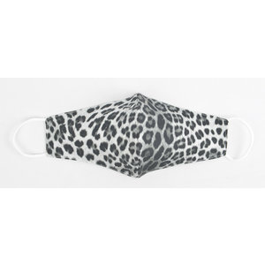 "Face mask ""Leo"" black / white, per 5pcs"