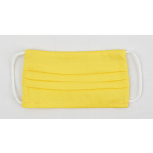 "Face mask ""Uni R M"" yellow, per 5 pcs."