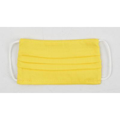 "Mondkapje ""Uni R M"" geel, per 5st."