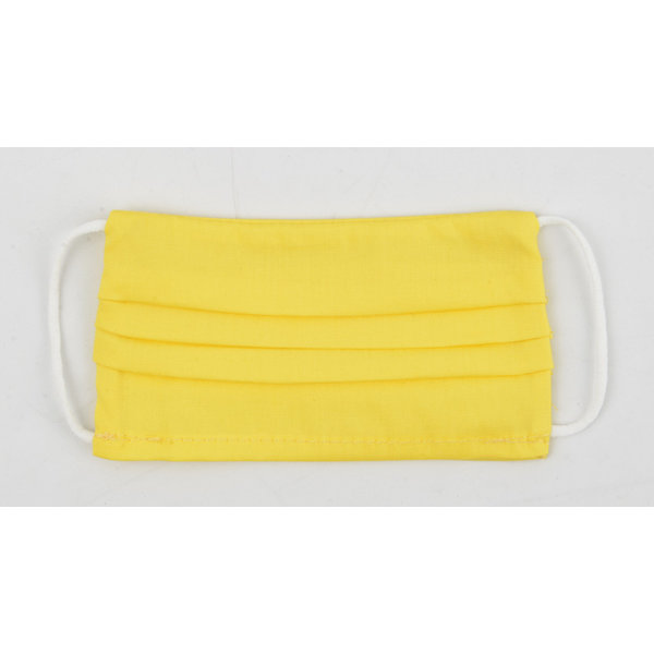 """Face mask """"Uni R S"""" yellow, per 5 pcs."""