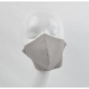 """Face mask """"Uni H"""" gray, per 5 pcs."""