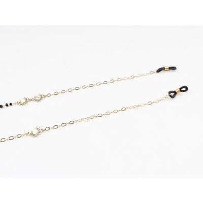 "Glasses cord ""Merrimon"" gold"