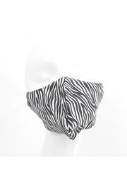 """Face mask """"Zebra"""" black/white, per 5pcs"""