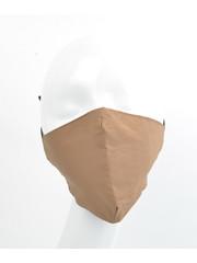 """Face mask """"Uni 3D-2"""" brown, per 5pcs."""