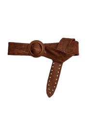 "Belt ""Studs"" brown"