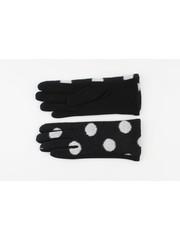 """Handschoen """"Livia"""" zwart/wit"""
