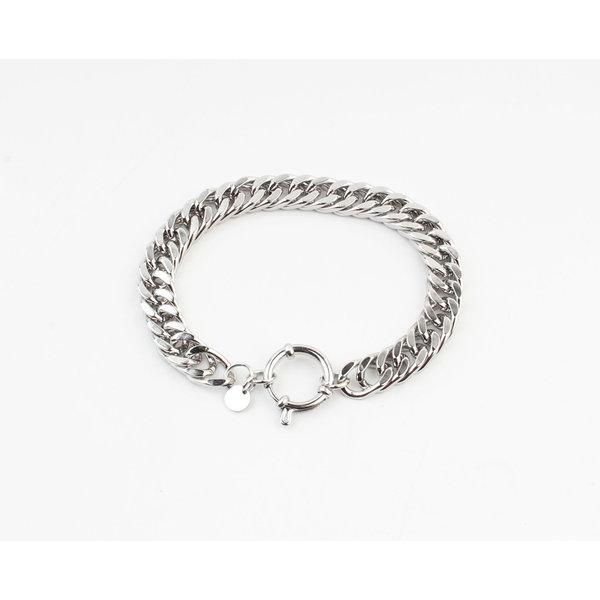 """Armband """"Joy"""" zilver"""