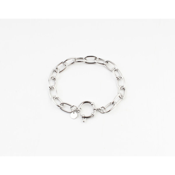 "Armband ""Miki""zilver"