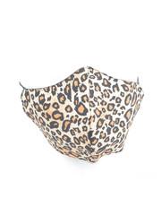 """Mondkapje """"Tree Leopard"""" bruin, per 5st."""