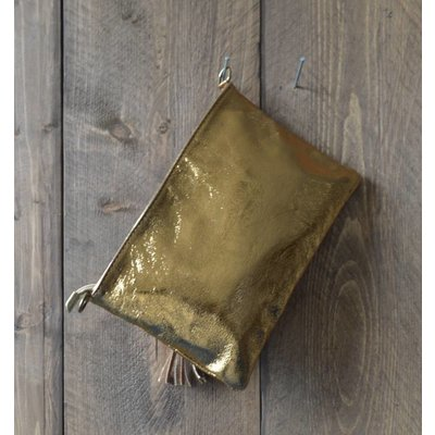 "Clutch ""Metallic"" gold"