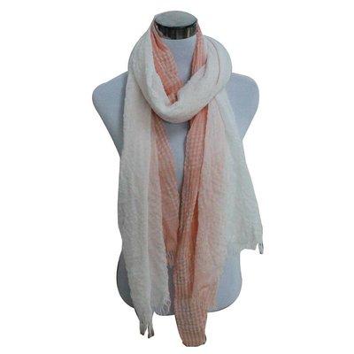 Sjaal   Ruitjes   Pink