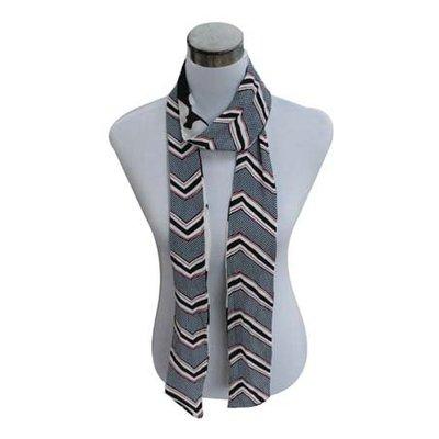 Sjaal | Strepen | Grey