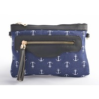 "Clutch ""Marine"" blue"